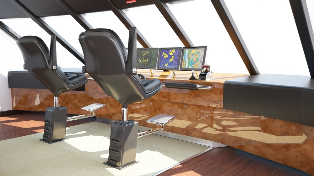 Consider, Yacht bridge design think